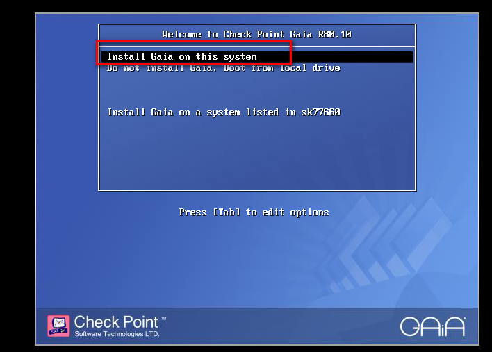 Checkpoint R80 10 Fresh Install